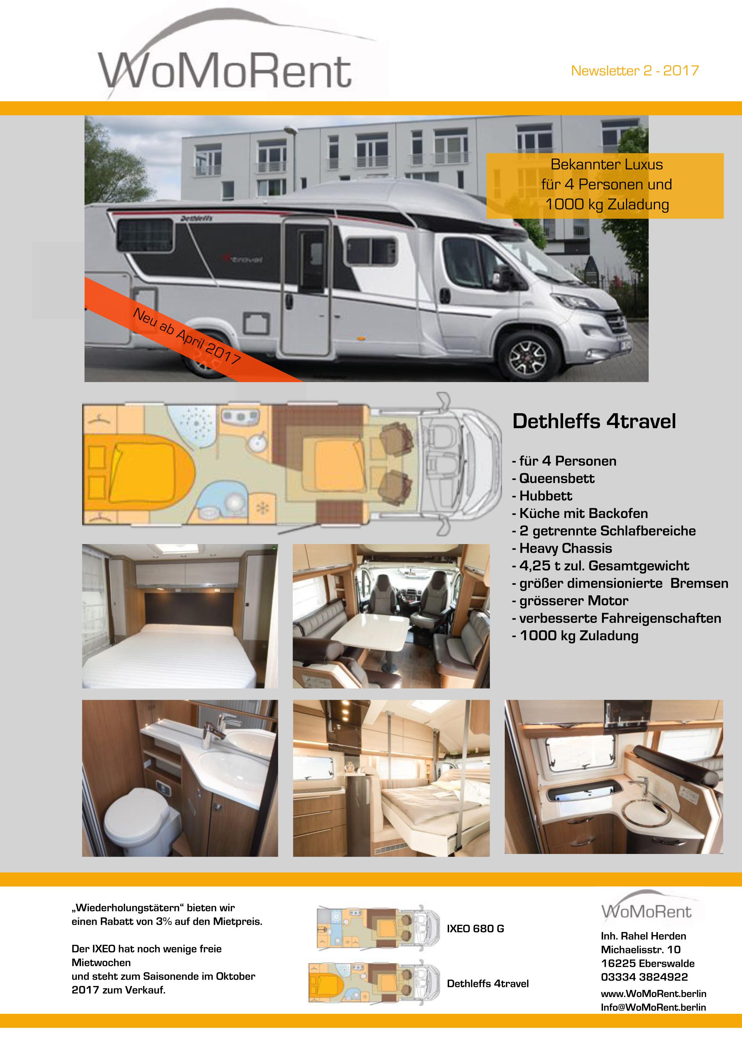 flyer womorent kopie wohnmobilvermietung. Black Bedroom Furniture Sets. Home Design Ideas